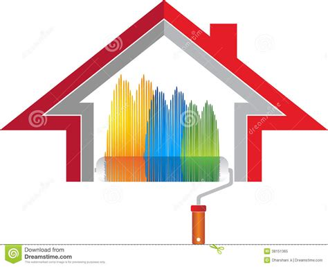 home interiors logo house design plans home decoration logo royalty free stock photo image
