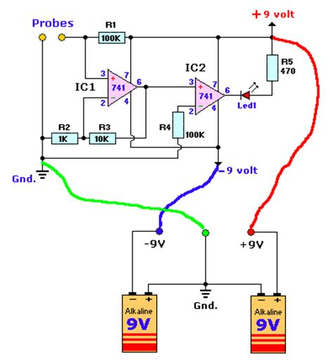 circuit diagram continuity tester image collections how