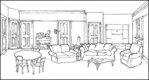 living room coloring free coloring pages of living living room