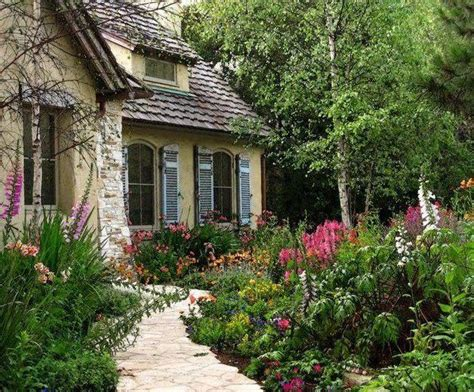 cottage gardener cottage garden paths in woods and gardens