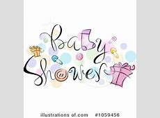 Baby Shower Clipart #1059456 - Illustration by BNP Design ... Free Clipart For Baby Showers For Girls