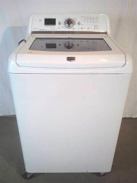 maytag bravos washer maytag bravos washer september appliance auction k bid