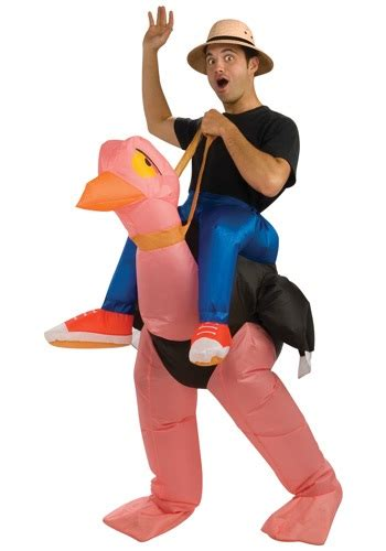 adult bounce house adult inflatable ostrich costume