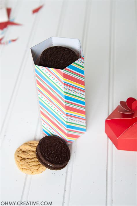 diy cookies diy cookie box gift printable oh my creative