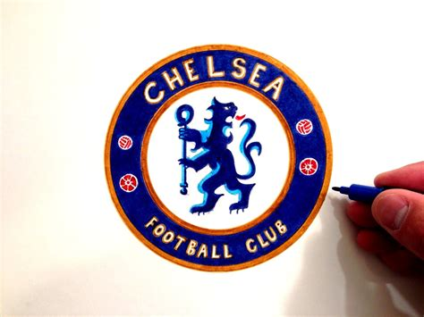 Chelsea Logo how to draw the chelsea fc logo
