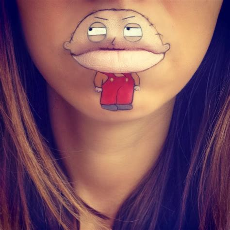 spectacular lip art designs 22 stylish eve
