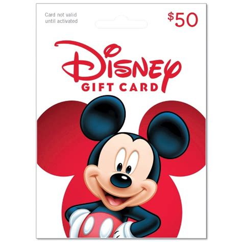Target Disney Gift Card - disney gift card 50 target