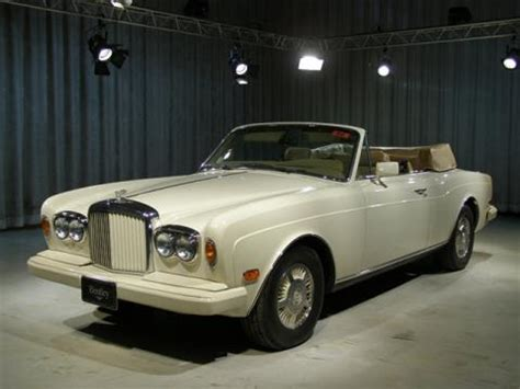 used bentley ad used 1988 bentley continental convertible for sale stock