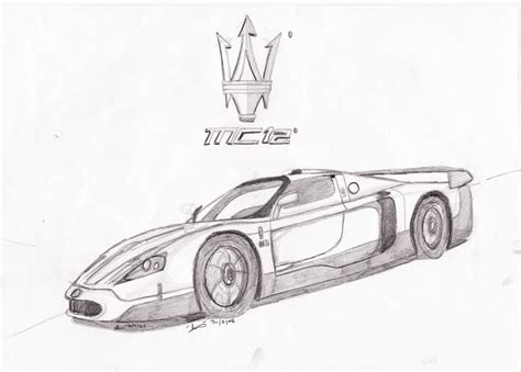 maserati logo drawing draw cars maserati pictures