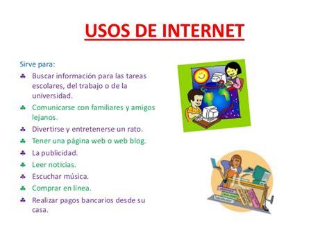 usos amorosos de la diapositiva de usos de internet