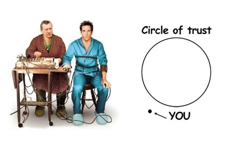 Circle Of Trust Meme - circle of trust ryan estis