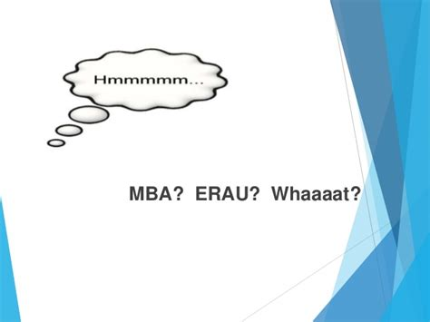 Erau Mba Airlines Management by Erau Degree Briefing Bs Technical Management And Mba In