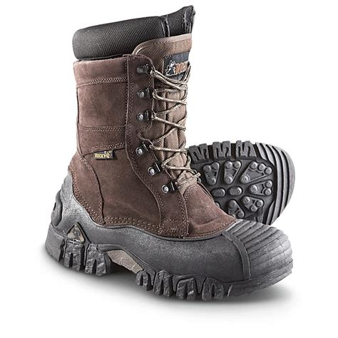 mens pac boots s rocky 174 jasper trac pac boots brown 293999