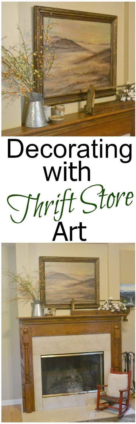 southern home decor stores decorating with thrift store art