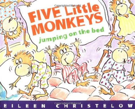 monkeys jumping on the bed video five little monkeys jumping on the bed a five little