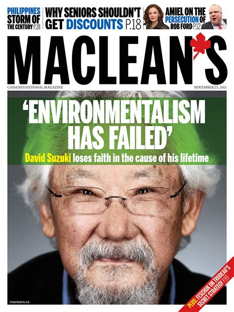 David Suzuki Articles David Suzuki On Common Sense Climate Change