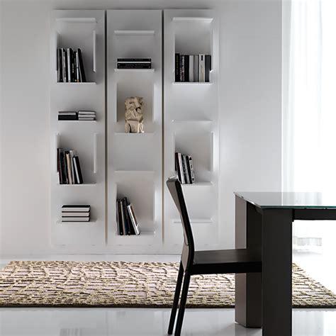 piccole librerie da parete cattelan italia fifty librerie