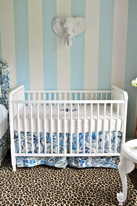 American Academy Of Pediatrics Crib Bumpers by One Room Challenge Palm Regency Nursery Reveal