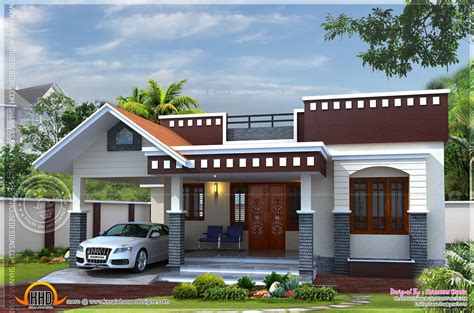 single home plans home plan of small house kerala home design and floor plans