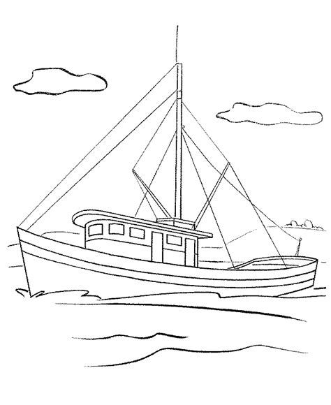 fishing boat in spanish language fishing boat coloring pages bestappsforkids
