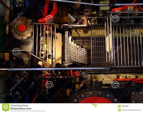 boat mechanic queenstown old steam boat engine royalty free stock photos image