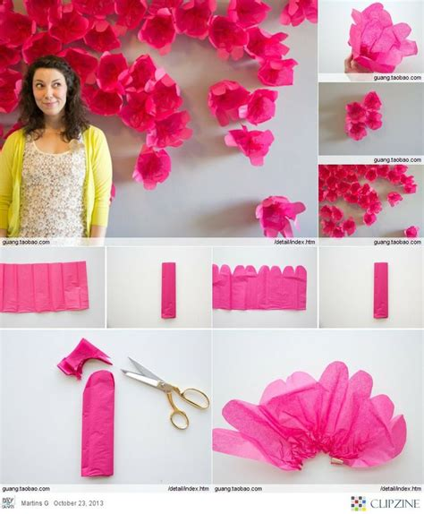 Handmade Wall Decor by Diy Wall Handmade Paper Flowers Tutorial