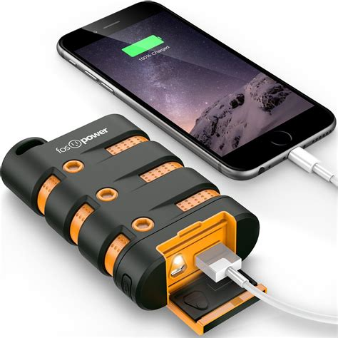 rugged power bank fospower is offering savings on its rugged power bank braided lightning cables and more at