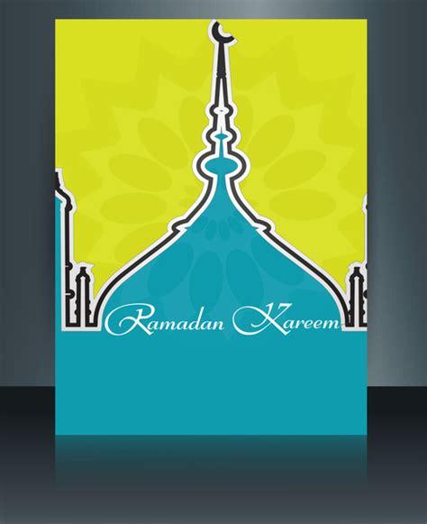arabic template for adobe illustrator vector illustration arabic islamic template brochure