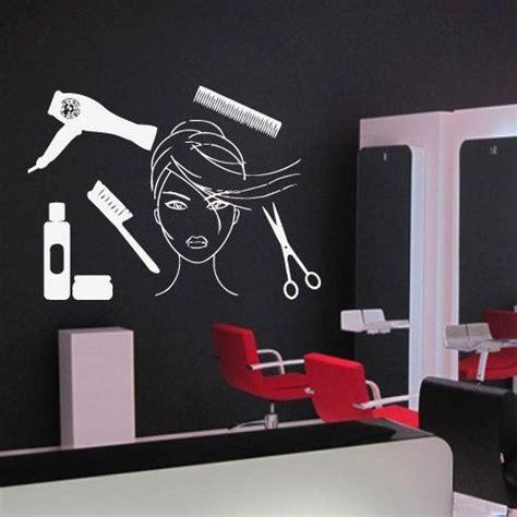 Hair Salon Wall Decor by Wall Decal Decor Decals Hair Salon Master