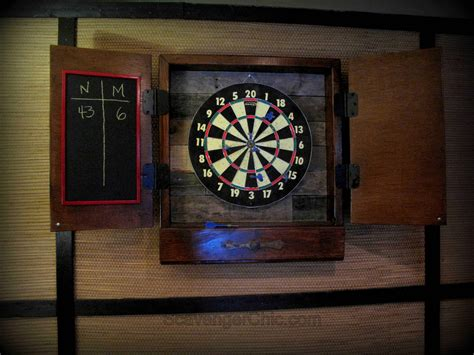 pallet  scrap wood dart board cabinet  pallets