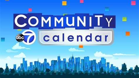 Community Event Calendars Abc7 Community Calendar Local Events In Nyc Abc7ny