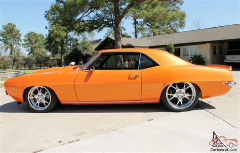 pro touring 1969 camaro z28 1969 chevrolet camaro z28 pro touring