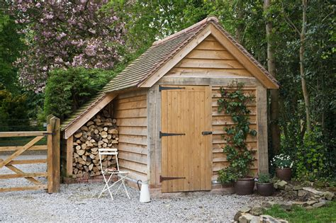 Barns Sheds And Outbuildings by Porches And Sheds Border Oak Oak Framed Houses Oak