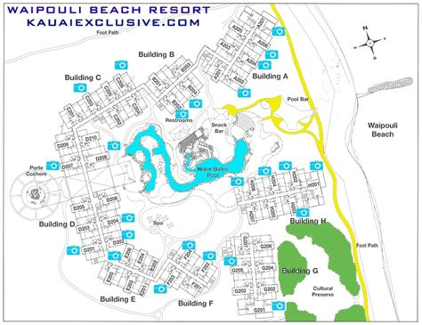 waipouli resort map waipouli vacation rental guide kauai exclusive management