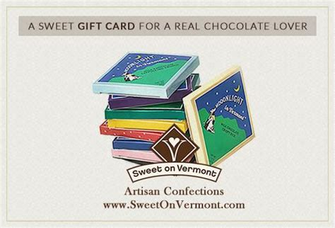 Chocolate E Gift Card - e gift cards gourmet artisan chocolates sweet on vermont