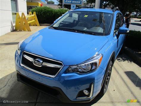 blue subaru crosstrek 2016 hyper blue subaru crosstrek 2 0i limited 115720432