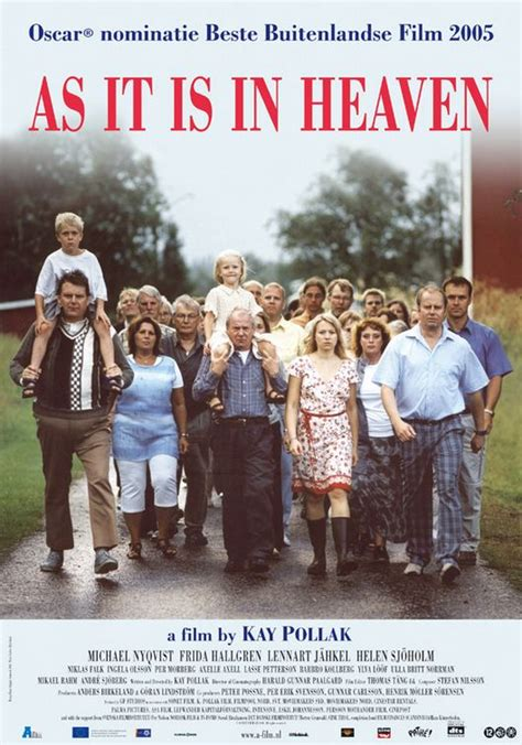 Film It Is In Heaven | as it is in heaven commences at waverley cinema november