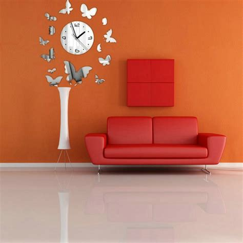 butterfly mirror wall stickers home decor combination sticker butterfly diy mirror wall