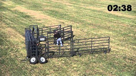 Corral For Sale Wrangler Portable Corral Fold Up Livestock Equipment