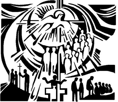 pentecost clipart no title