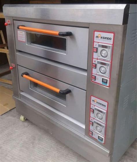 Oven Roti Gas jual mesin oven roti gas 2 rak 4 loyang go24 di semarang toko mesin maksindo semarang toko