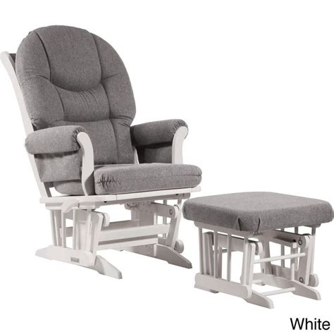 Dutailier Ultramotion Sleigh Glider And Ottoman Dutailier Ultramotion Grey Multiposition Reclining