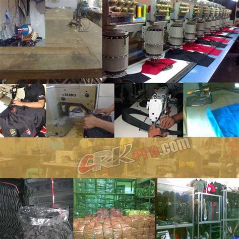 Ssepatu Pdl Provost Tni Pol Barang Produksi proses jahit pakaian dinas harian pdh satpam seragam pakaian dinas lapangan pdl security baju
