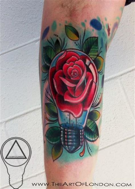 tattoo london new school rose bulb new school tattoo by the art of london best