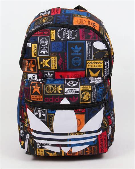 Backpack Label adidas originals label backpack multi bag shoulder holdall