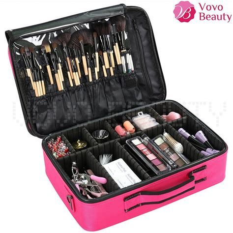 Cosmetic Makeup Bag For professional makeup bag portable cosmetic storage box