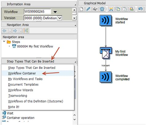 sap workflow different types of containers in sap workflow sap fiori