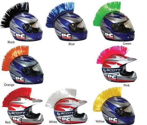 motocross helmet mohawk pc racing helmet mohawks bto sports