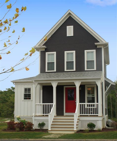 union studio home design sandywoods farm farmhouse exterior providence by