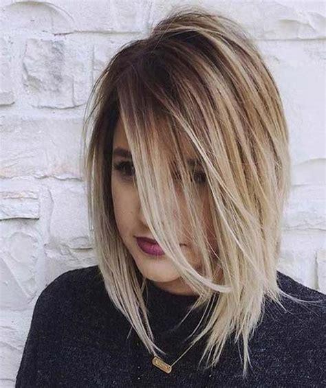 a line haircut medium length a line bob straight medium length hair 2016 a line bob